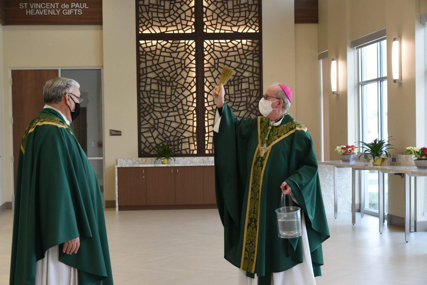 St. Vincent de Paul Family Life Center Blessing