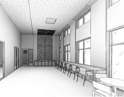 St. Vincent de Paul Family Life Center Concept Drawing